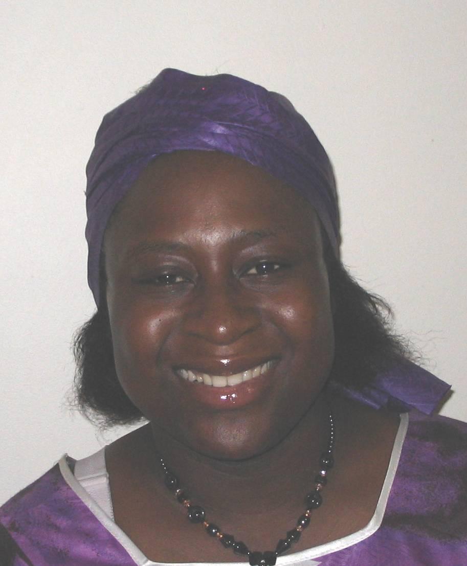Miranda Ijang Teboh-Ewungkem,MS in Statistics, 2003, PhD in